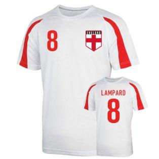 England Sports Training Jersey (lampard 8)