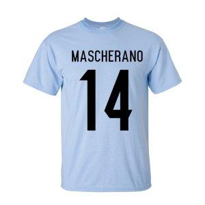 Javier Mascherano Argentina Hero T-shirt (sky)