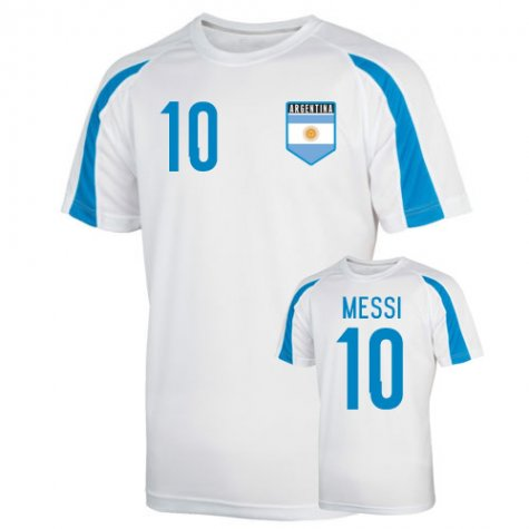 Argentina Sports Training Jersey (messi 10)