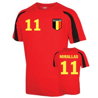 Belgium Sports Training Jersey (lukaku 20) - Kids