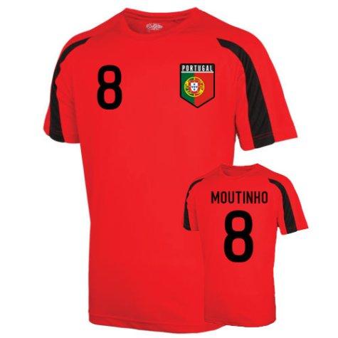 Portugal Sports Training Jersey (moutinho 8) - Kids