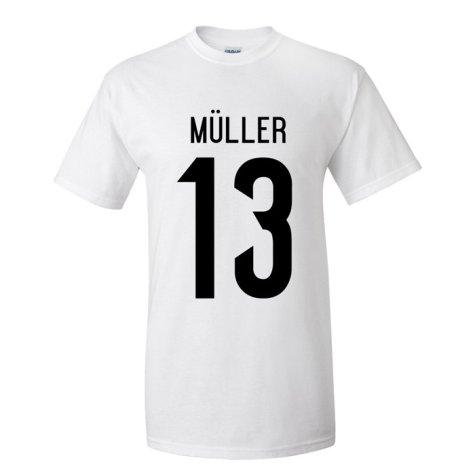 Thomas Muller Germany Hero T-shirt (white)