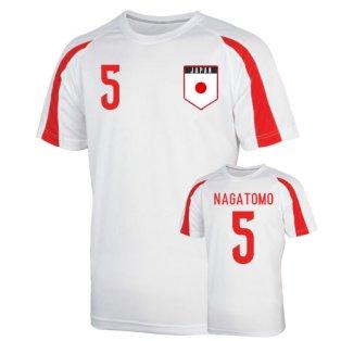 Japan Sports Training Jersey (nagatomo 5) - Kids