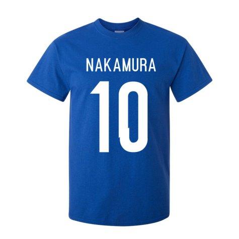 Shinsuke Nakamura Japan Hero T-shirt (blue)