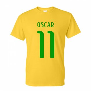 Oscar Brazil Hero T-shirt (yellow)
