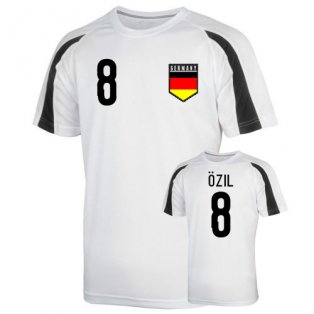 Germany Sports Training Jersey (ozil 8) - Kids
