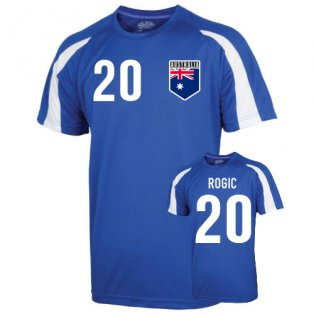 Australia Sports Training Jersey (rogic 20) - Kids