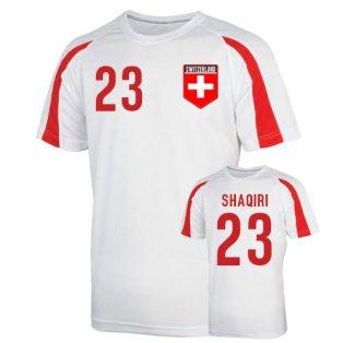 Switzerland Sports Training Jersey (shaqiri 23) - Kids