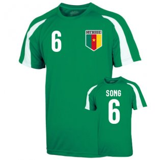 Cameroon Sports Training Jersey (song 6)