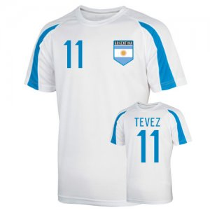 Argentina Sports Training Jersey (tevez 11)
