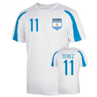 Argentina Sports Training Jersey (tevez 11) - Kids