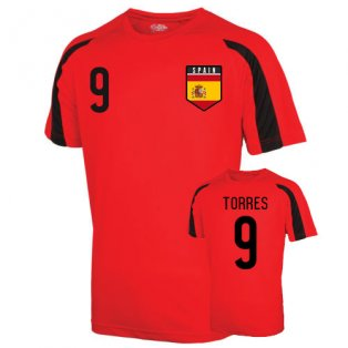 Spain Sports Training Jersey (torres 9) - Kids