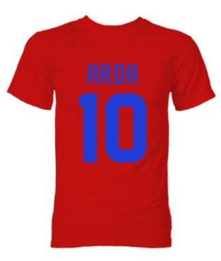 Arda Turan Atletico Madrid Hero T-Shirt (Red)