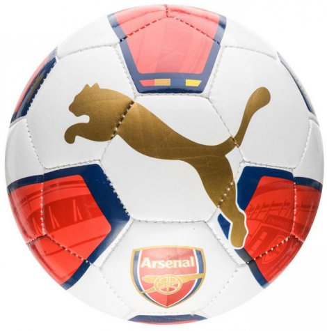 2015-2016 Arsenal Puma Fan Football (White-Blue-Red)