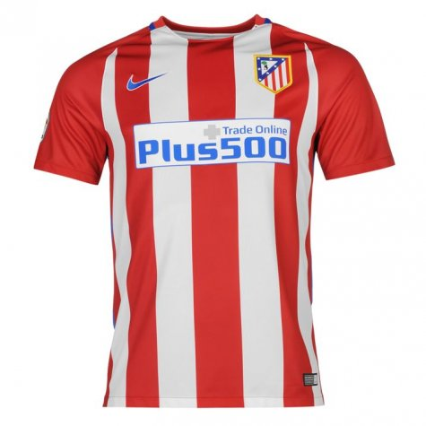 2016-2017 Atletico Madrid Home Nike Football Shirt
