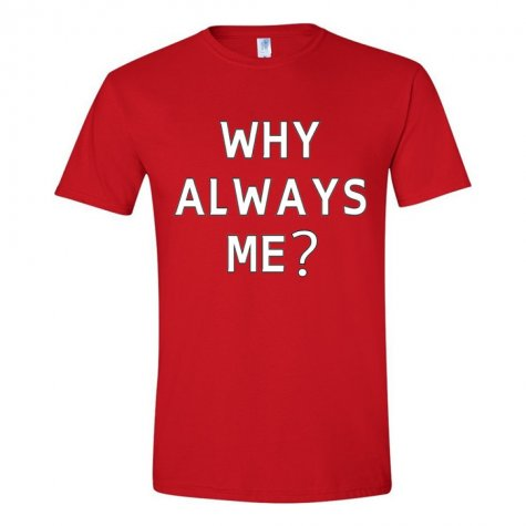 Mario Balotelli Why Always Me T-Shirt (Red)