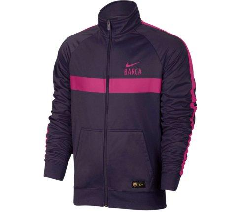 2016-2017 Barcelona Nike Core Trainer Jacket (Purple)
