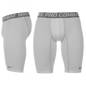 Nike Pro 9 Core Baselayer Shorts (white)