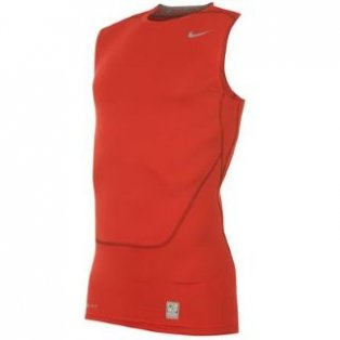 Nike Pro Core Sleeveless Baselayer (red)
