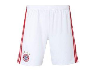2016-2017 Bayern Munich Adidas Home Shorts (White)