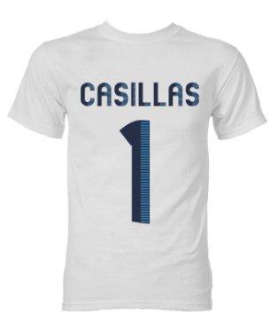 Iker Casillas Real Madrid Hero T-Shirt (White)