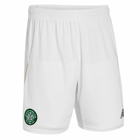 2016-2017 Celtic Home Shorts (White) - Kids