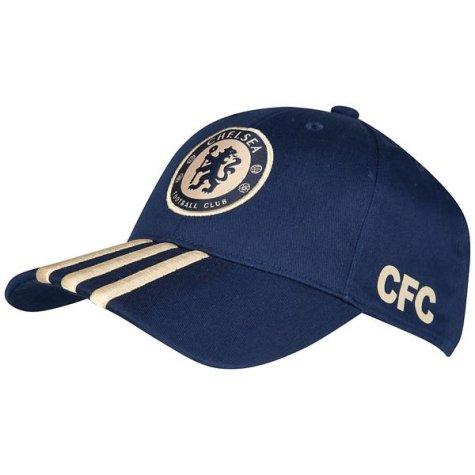 2012-13 Chelsea Adidas Baseball Cap (Navy)  X51634  - Uksoccershop 49cbb725a55