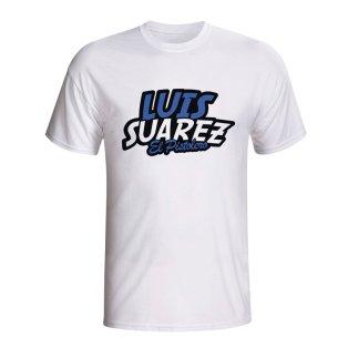 Luis Suarez Comic Book T-shirt (white) - Kids