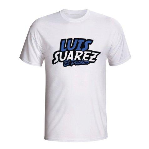 Luis Suarez Comic Book T-shirt (white)