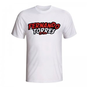 Fernando Torres Comic Book T-shirt (white) - Kids