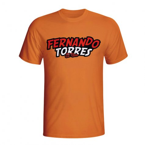 Fernando Torres Comic Book T-shirt (orange) - Kids