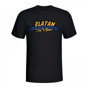 Zlatan Ibrahimovic Comic Book T-shirt (black) - Kids