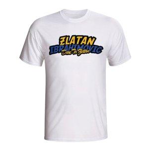 Zlatan Ibrahimovic Comic Book T-shirt (white) - Kids