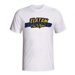 Zlatan Ibrahimovic Comic Book T-shirt (white) - Kids