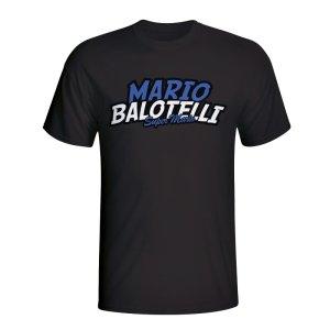 Mario Balotelli Comic Book T-shirt (black)