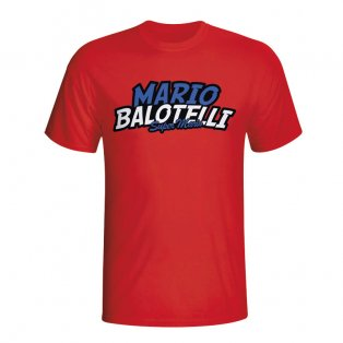 Mario Balotelli Comic Book T-shirt (red) - Kids