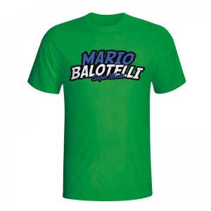 Mario Balotelli Comic Book T-shirt (green)