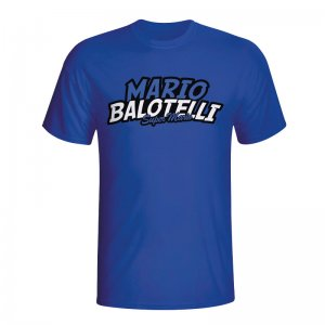 Mario Balotelli Comic Book T-shirt (blue) - Kids