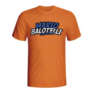 Mario Balotelli Comic Book T-shirt (orange)