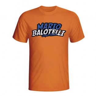 Mario Balotelli Comic Book T-shirt (orange) - Kids