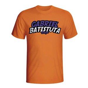 Gabriel Batistuta Comic Book T-shirt (orange) - Kids