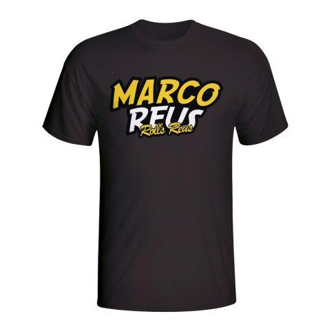 Marco Reus Comic Book T-shirt (black) - Kids