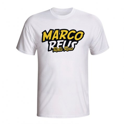 Marco Reus Comic Book T-shirt (white)