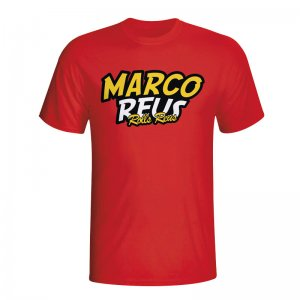 Marco Reus Comic Book T-shirt (red)
