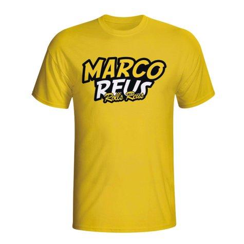 Marco Reus Comic Book T-shirt (yellow) - Kids