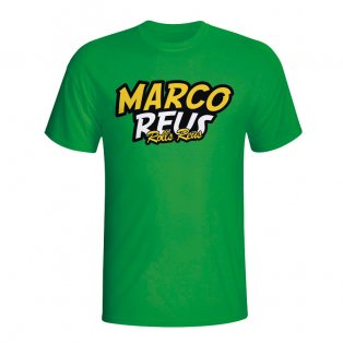 Marco Reus Comic Book T-shirt (green) - Kids