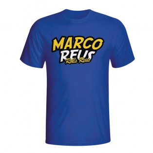 Marco Reus Comic Book T-shirt (blue) - Kids