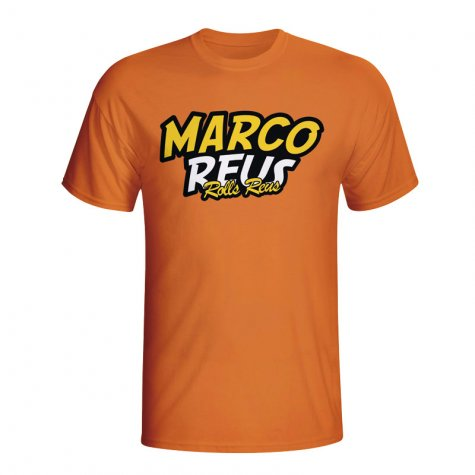 Marco Reus Comic Book T-shirt (orange)