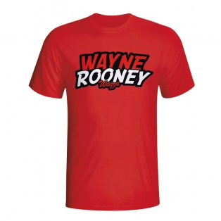 Wayne Rooney Comic Book T-shirt (red) - Kids