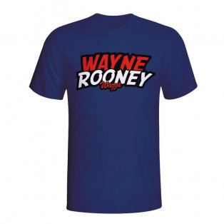 Wayne Rooney Comic Book T-shirt (navy) - Kids